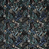 Christian Lacroix Cueillette Soft Green and Black Fabric - Product code: FCL7038/01