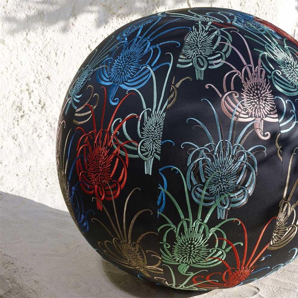 Les Centaurees Fabric - Multi-coloured - by Christian Lacroix
