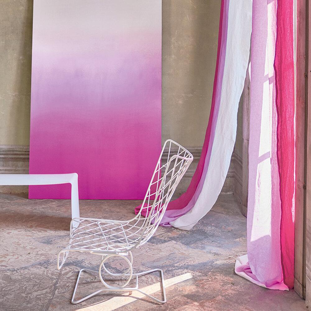 Saraille Mural - Fuchsia - by Designers Guild