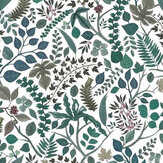 Christian Lacroix Cueillette Green Fabric - Product code: FCL7037/02