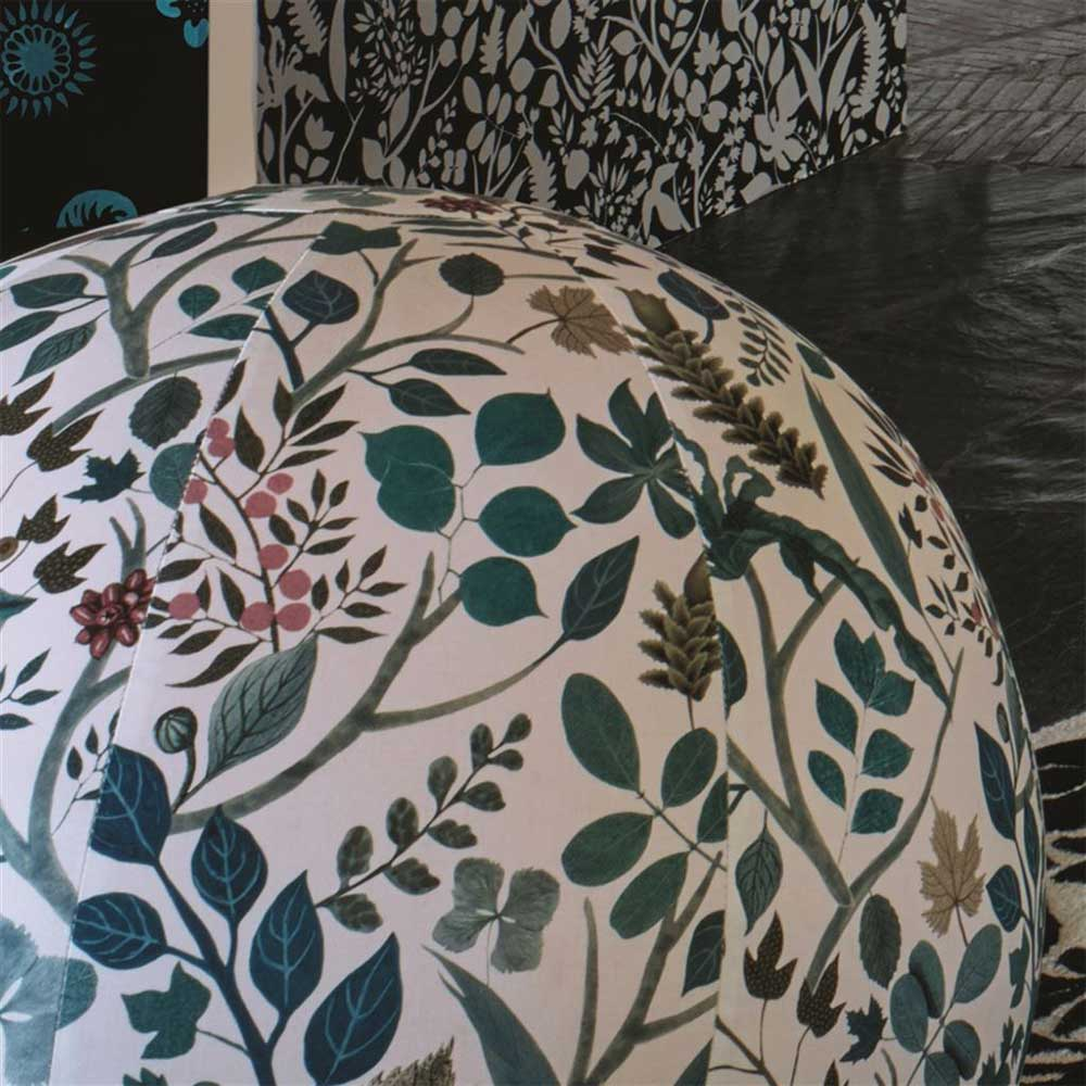 Cueillette Fabric - Green - by Christian Lacroix