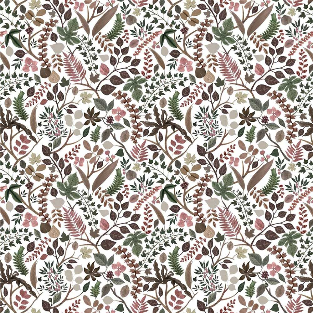 Cueillette Fabric - Pink and Green - by Christian Lacroix