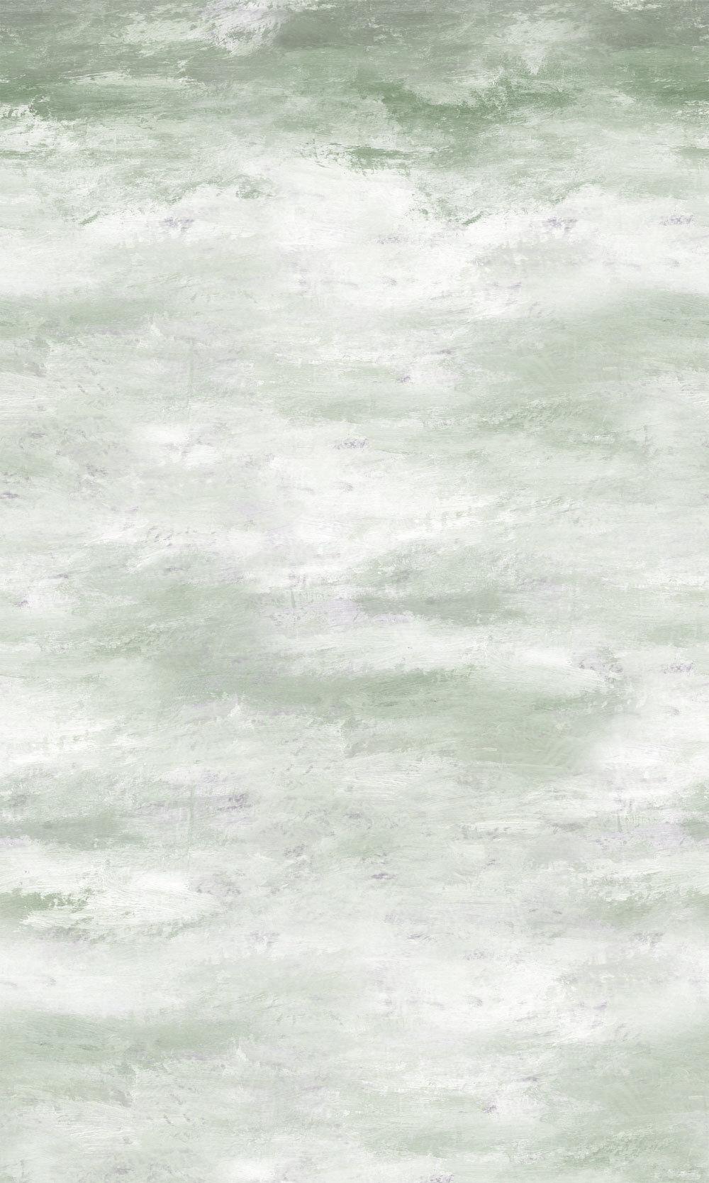 Cielo Panel Mural - Jade - by Designers Guild