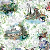 Designers Guild Reveries Vert Buis Mural - Product code: PCL1003/01