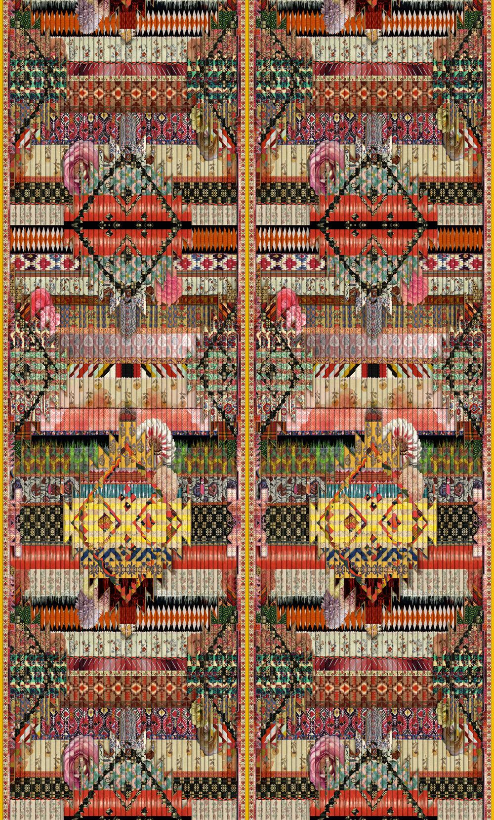 Designers Guild Fetiche Arlequin Mural - Product code: PCL1000/01