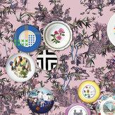 Designers Guild Folie Myrtille Mural - Product code: PCL1002/01