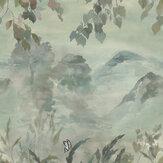 Designers Guild Miyako Scene 1 Dove Mural - Product code: PDG1111/01
