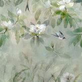 Designers Guild Kiyosumi Celadon Mural - Product code: PDG1113/01