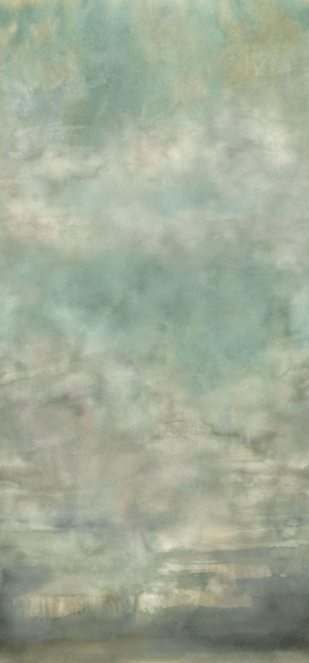Suisai Mural - Celadon - by Designers Guild