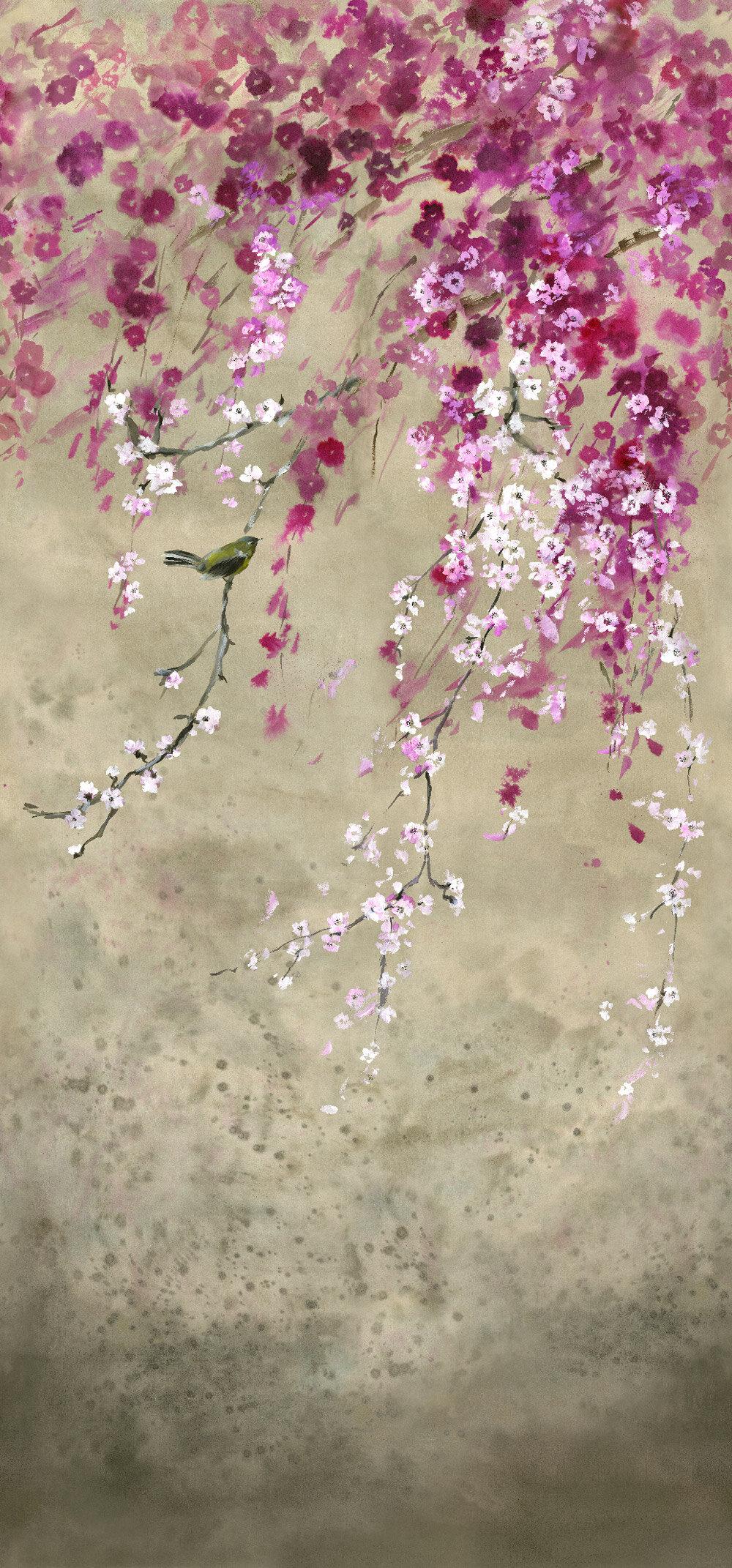 Shinsha Scene 1 Mural - Blossom - by Designers Guild