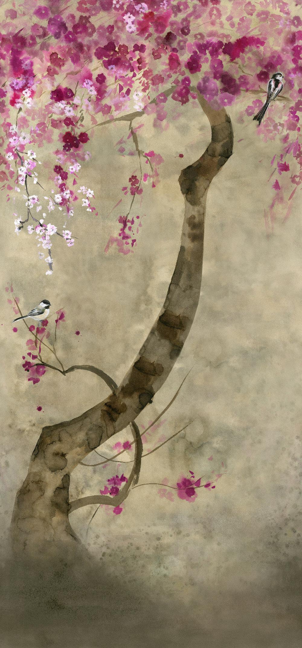 Shinsha Scene 2 Mural - Blossom - by Designers Guild