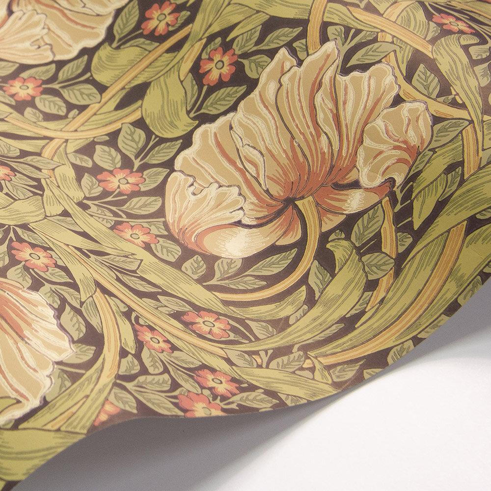 Morris Pimpernel Bullrush / Russet Wallpaper - Product code: 216730