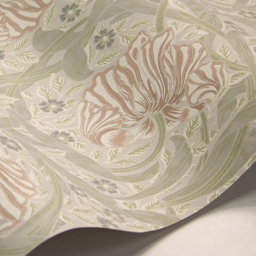 Morris Pimpernel Blossom / Mist Wallpaper - Product code: 216732
