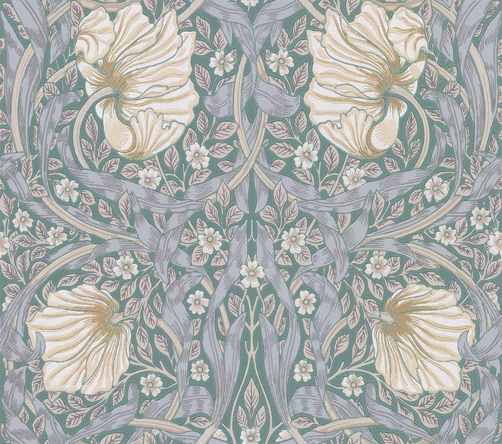 Morris Pimpernel Eggshell / Ecru Wallpaper - Product code: 216733