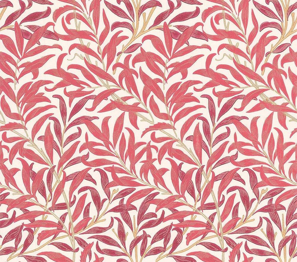 Morris Willow Boughs Madder / Claret Wallpaper - Product code: 216720