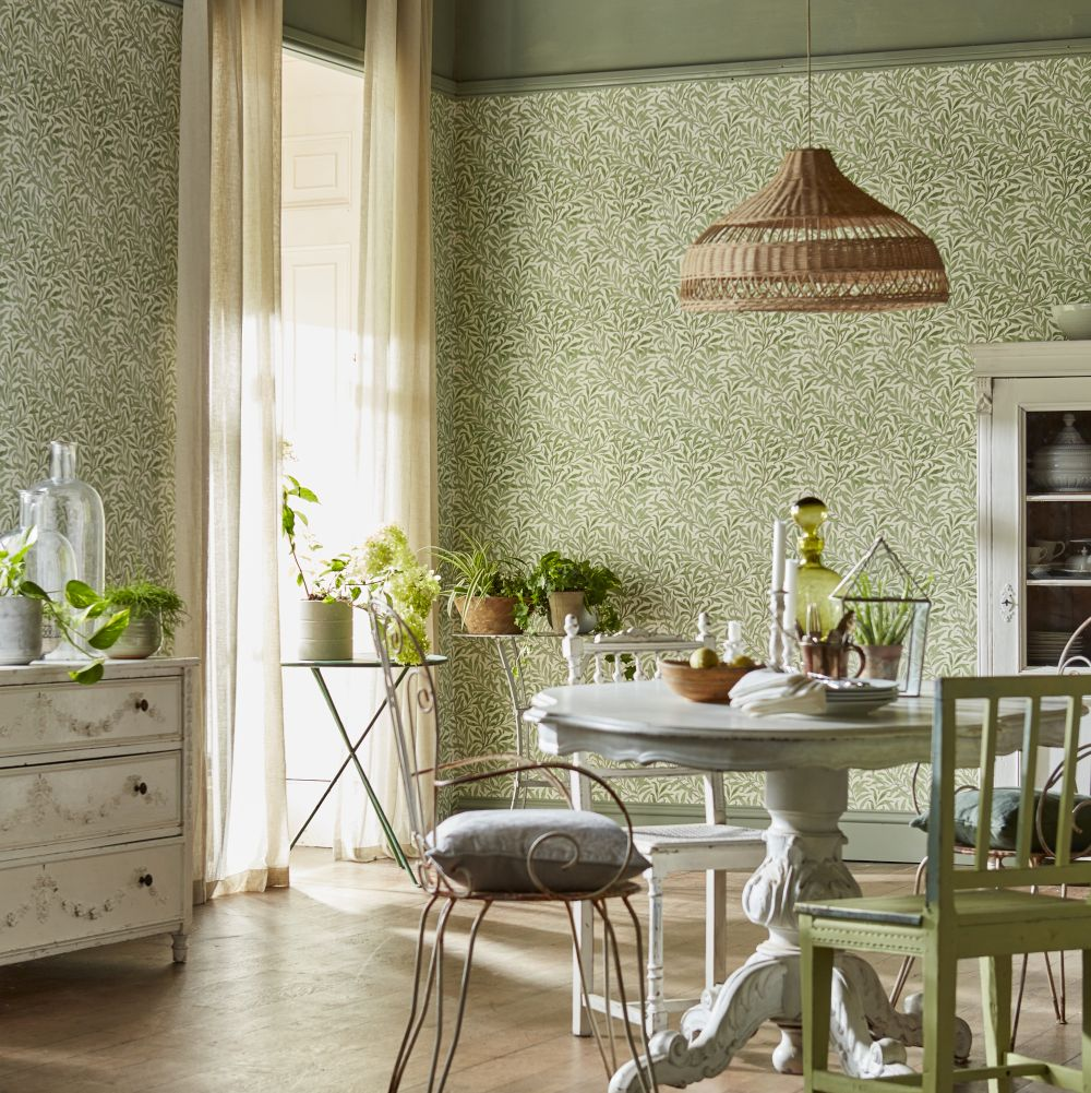 Morris Willow Boughs Willow / Ecru Wallpaper - Product code: 216721
