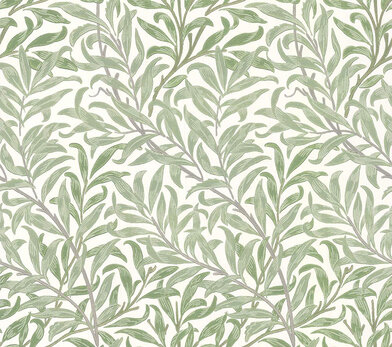 Willow Bough by William Morris /& Co Carte danniversaire vierge Motif Ling Feuilles vertes IJ0034