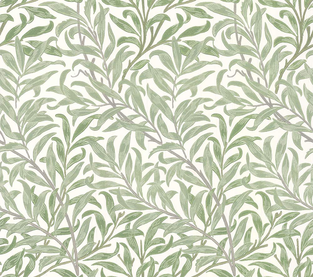 Morris Willow Boughs Willow / Ecru Wallpaper - Product code: 216721