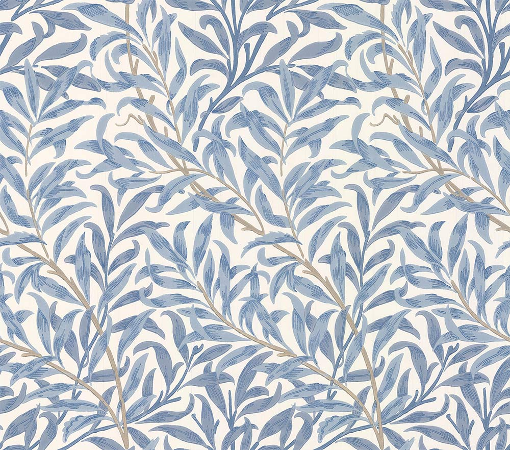 Morris Willow Boughs Delft / Porcelain Wallpaper - Product code: 216722