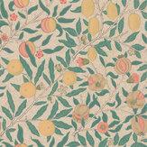 Morris Fruit Gold / Jade Wallpaper - Product code: 216723