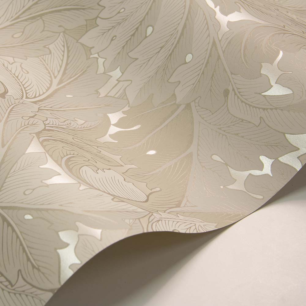 Morris Acanthus Ivory / Pearl Wallpaper - Product code: 216739