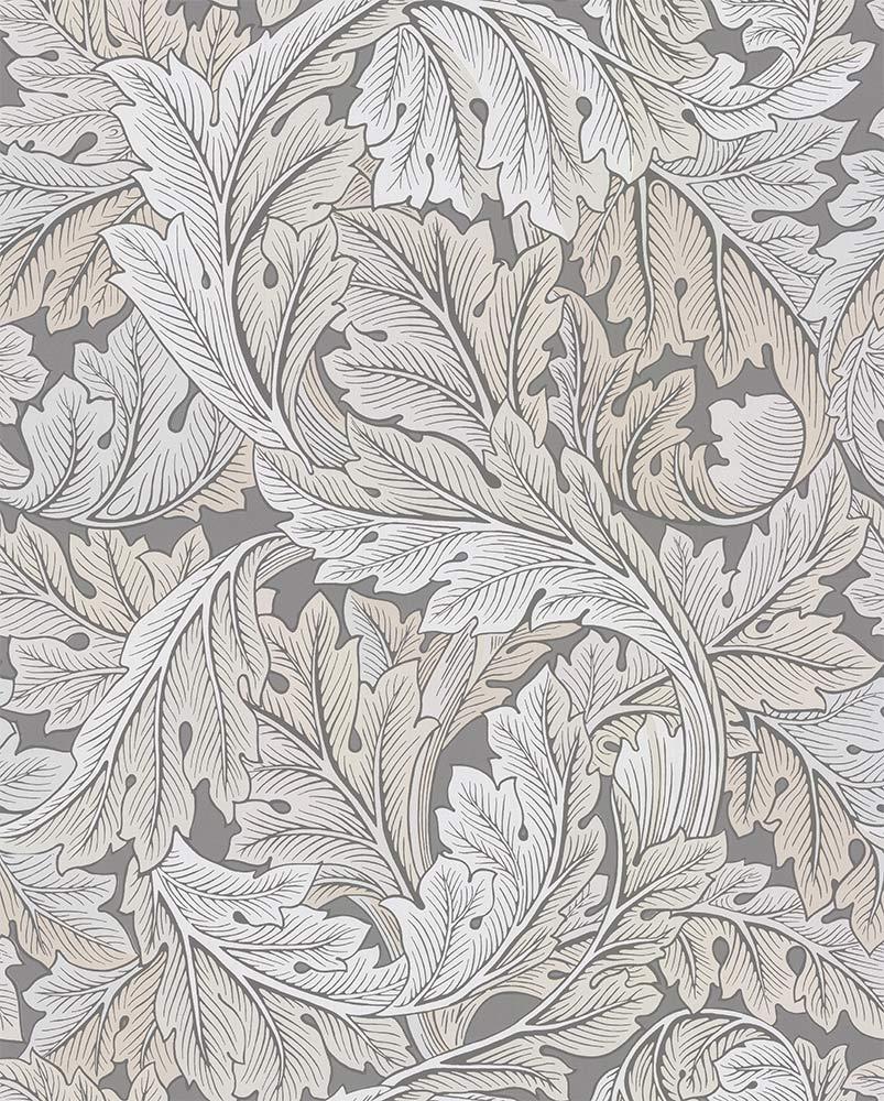 Morris Acanthus Slate / Pewter Wallpaper - Product code: 216740