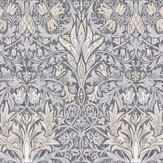 Morris Snakeshead Slate / Dove Wallpaper - Product code: 216747