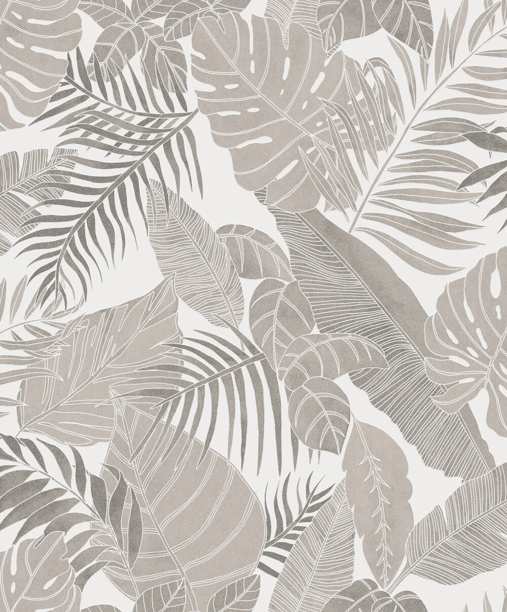 Zoom by Masureel Tropical Snow Wallpaper - Product code: LAV101