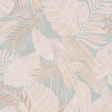 Zoom by Masureel Tropical Jade Wallpaper - Product code: LAV103