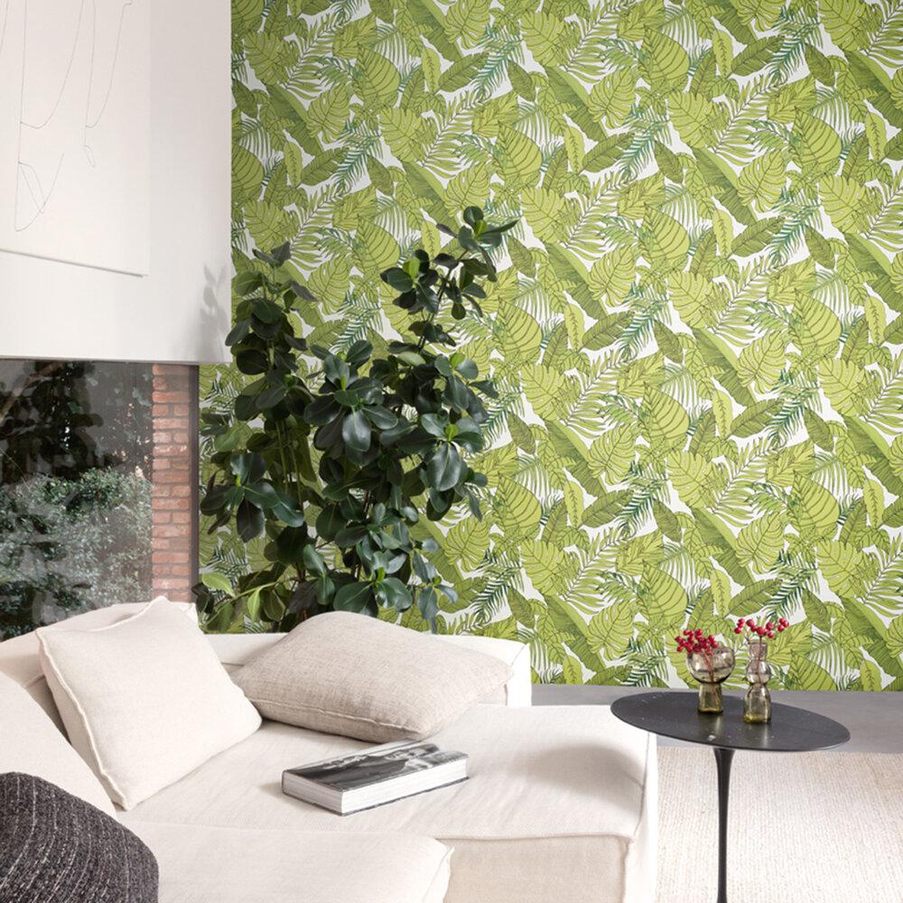 Tropical Wallpaper - by Zoom by Masureel