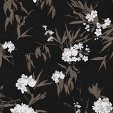 Zoom by Masureel Jelena Ebony Wallpaper - Product code: LAV401