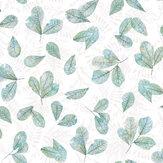 Galerie Leaves Teal Wallpaper - Product code: 7303