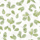 Galerie Leaves Green Wallpaper - Product code: 7305
