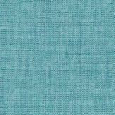 Caselio Linen Medium Turquoise Wallpaper - Product code: LINN68526623