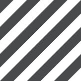 Galerie Large Diagonal Stripe Black Wallpaper - Product code: ST36915