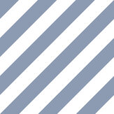 Galerie Large Diagonal Stripe Blue Wallpaper - Product code: ST36916