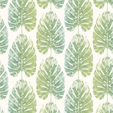 Galerie Monstera Leaves Blue Green Wallpaper - Product code: 7326