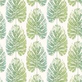 Galerie Monstera Leaves Blue Green Wallpaper - Product code: 7326