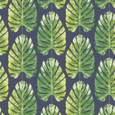 Galerie Monstera Leaves Black Wallpaper - Product code: 7328