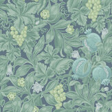 Cole & Son Vines of Pomona Teal / Viridian / Denim Wallpaper - Product code: 116/2006