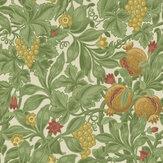 Cole & Son Vines of Pomona Ochre / Olive Green / Cream Wallpaper - Product code: 116/2007