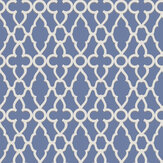 Cole & Son Treillage White / Hyacinth Wallpaper - Product code: 116/6021