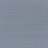 Jane Churchill Zelma Blue Wallpaper - Product code: J8008-06