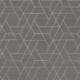 Jane Churchill Zelma Charcoal Wallpaper - Product code: J8008-07