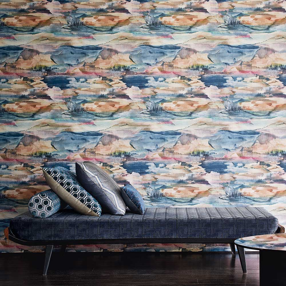 Jane Churchill Solace Multi-coloured Wallpaper - Product code: J8010-01