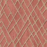 Jane Churchill Rex Red Wallpaper - Product code: J8011-02