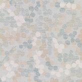 Jane Churchill Cecily Aqua Wallpaper - Product code: J8012-01