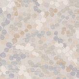 Jane Churchill Cecily Silver / Copper Wallpaper - Product code: J8012-02