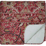 Morris Bullerswood Quilted Bedspread Paprika Throw - Product code: QTBBULPZPAP