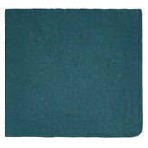 Morris Little Chintz Quilted Bedspread Teal Throw - Product code: QTBLICTZTEA2